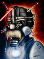 The Moustache (revised on iPad) by Keith0186