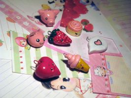 Charm Pile by Michi01