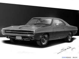 1970 Dodge Charger 440 RT by jayhawk-523
