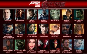 Assemble Your Avengers by Xionice