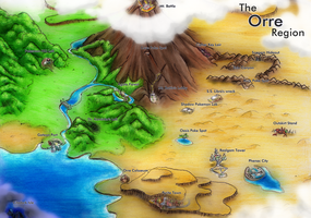 The Orre Region by MissionSunshine
