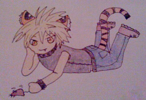 Tigerboy by Sharon-the-fairy
