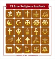 Free Religious Symbols Icons by Designbolts