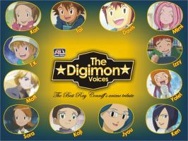 The Digimon Voices Special by abonomini