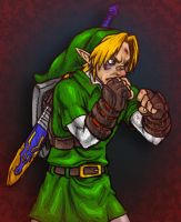 OoT Link can kick your ass by AIBryce