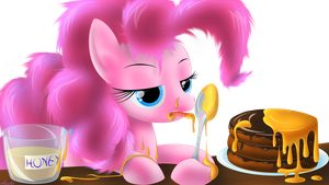 Pinkie and honey-cake by Awalex