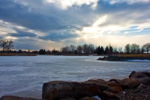 Frozen Pond by Shano11