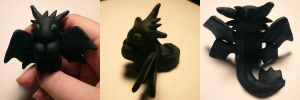 Toothless Open Eyed Jizo by ChibiSilverWings