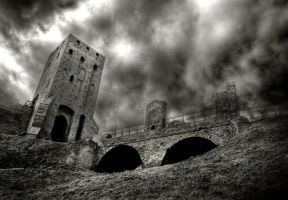 Czersk Castle by Dr-Livemore