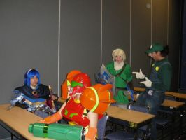 Brawl Group - Otakuthon 2008 by Ryukai-MJ