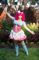 Gala Pinkie Pie Cosplay by bewitchedraven