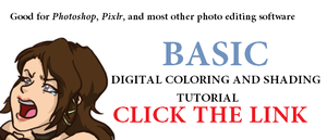 BASIC Digital Coloring Tutorial by E-vay