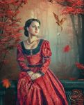 The Woman in Red by AliaChek