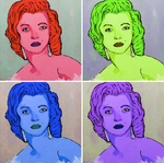 marilyn monroe by cheshirecastiel