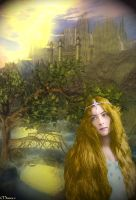 Idril Celebrindal in Gondolin by maiarcita