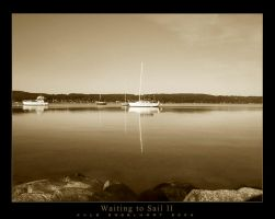 Waiting to Sail II by kcegraphics