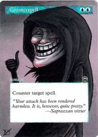 Counterspell: Trollface by 00-PavoRandom-00