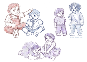 Omegaverse Babies by ErinPtah