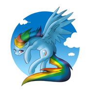 RainbowDash  by CSOX