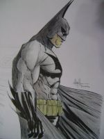 Batman,Michaels Turner Tribute by B-Ramalho