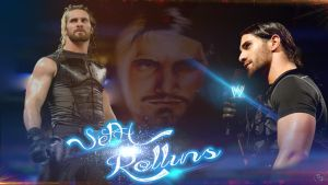 seth rollins hd wallpaper by simranjeet24
