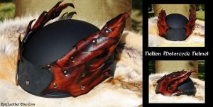 Hellion Motorcycle Helmet by Epic-Leather