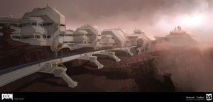 DOOM - Advance Research Complex Tram Ride by MeckanicalMind