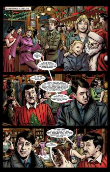 Fade Away (The Lost Scenes): UNIT Christmas page 1 by ShawnVanBriesen