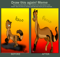 Before and after Meme1 by Letipup