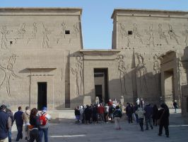 Temple of Egypt by Lassic