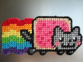Nyan Cat the Permanent by AprilMoonshine