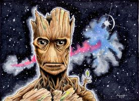 I AM GROOT by Fellhauer