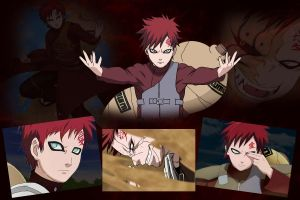 Gaara by GreenDrag0n