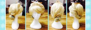 Elsa Coronation Wig by Ellwell