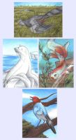 Realistic Pokemon Collection by SpiritTrack