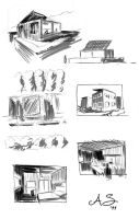House studies by AndreaSchepisi