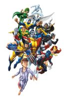 MARVEL Origins X-Men by JPRart