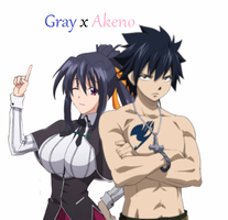 Cross over: Gray x Akeno by Redchampiontrainer01