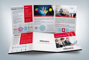 Trifold Brochure - Eleven by tutom