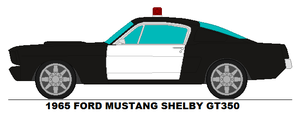 Ford Mustang Shelby GT350 Police Car by MisterPSYCHOPATH3001
