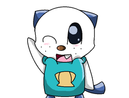 Oshawott request by Demenseathecat12