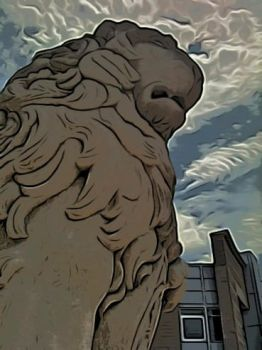 Englewood Lion by MessengerBoy