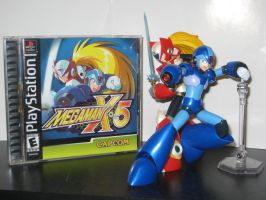 -X Cover Shoot- MegaMan X5 (updated) by Nin10doNerd