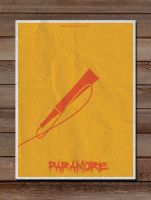 Minimalist Posters: Paramore by LucasBariani