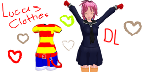 MMD Lucas's clothes by Lucaslover89