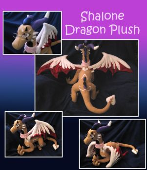 Shalone Dragon Plush by DragonCid
