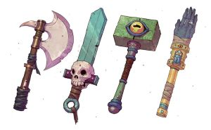 Weapons by mahons