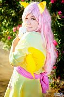 Fluttershy Cosplay by Mary chan by OrochiMary