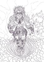 Broly 2013 Redesign 2 by Bender18