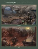 Sci fi world after a year by Ranivius